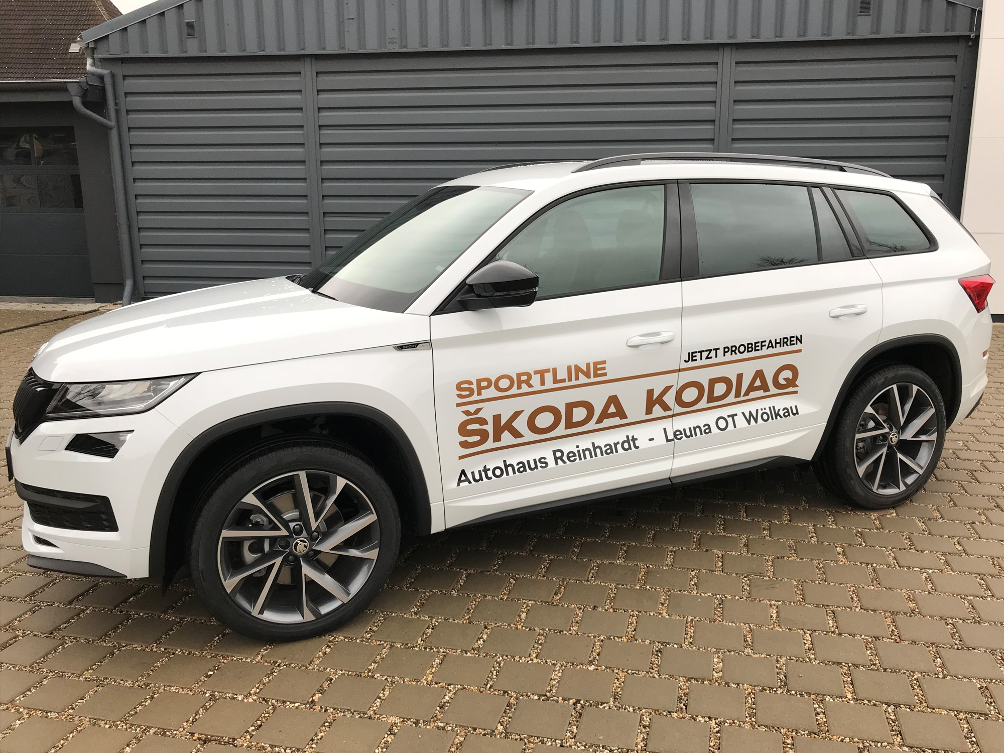 skoda kodiaq sportline artist of media. Black Bedroom Furniture Sets. Home Design Ideas